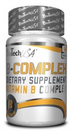 Вітаміни BioTech B Complex 60 tabs, фото 2