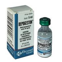 Депогестон( Depogeston ) фл. 5 мл - контрацептив для собак и кошек( Biowet Pulawy )