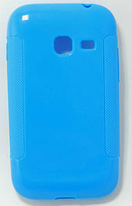 Чехол TPU на Samsung Galaxy Ace Duos S6802 Голубой
