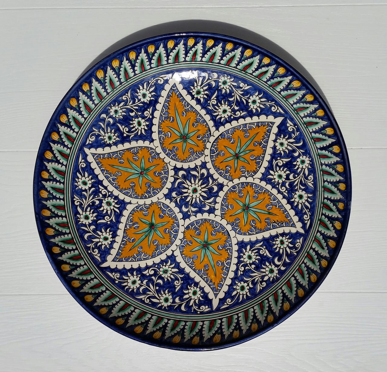 Ляган для плова d 32 см. Узбекистан