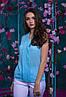 Красивая шифоновая женская блуза   42, 44, 46, 48, фото 2