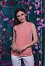 Красивая шифоновая женская блуза   42, 44, 46, 48, фото 4