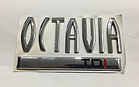 Эмблема надпись багажника OCTAVIA TDI