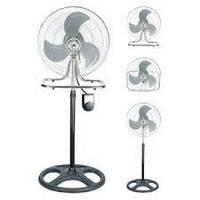 Вентилятор напольный с металическими лопостями FS-4531 / 70W (3 скорости)