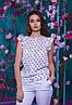Красивая шифоновая женская блуза   42, 44, 46, 48, фото 7