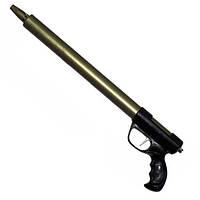 Подводное ружьё зелинка ОПС Чайка 700 мм, торцевая рукоять, без регулятора