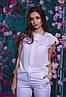 Красивая шифоновая женская блуза   42, 44, 46, 48, фото 10