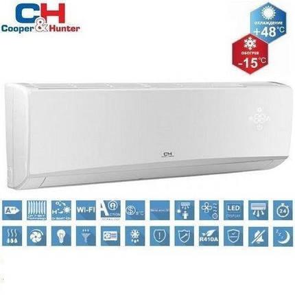 Кондиционер настенный Cooper&Hunter ALPHA Wifi R32 Inverter New(-15°C) CH-S09FTXE-NG (WI-FI), фото 2