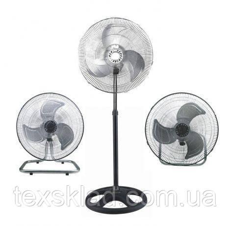 Вентилятор напольный с металическими лопостями FS-1622 / 50W