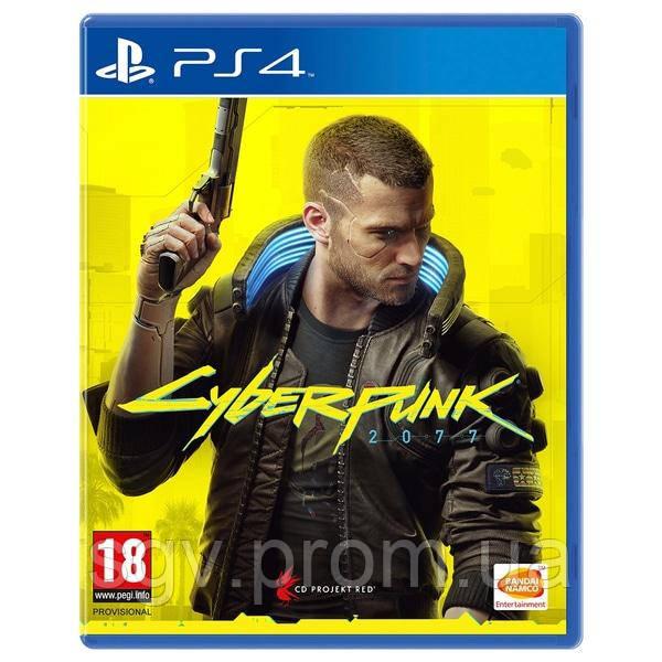 Сyberpunk 2077 для PS4 (Blu-ray, Руская версия)