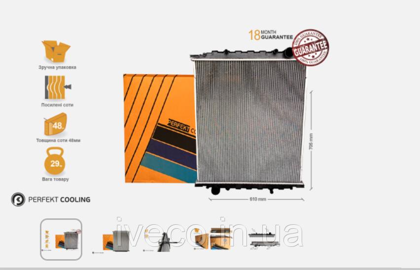 Радиатор охлаждения без рамы  MAN L2000  85061016010