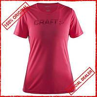 Футболка женская Craft Prime Logо розовая 1904342-1411