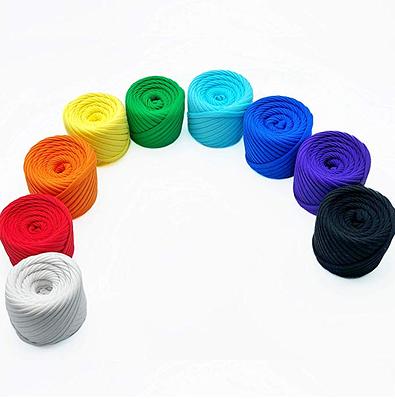 Набір міні моточків Rainbow — 9 штук по 20 м, 7-9 мм