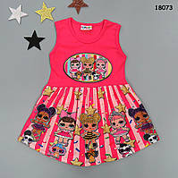 Літнє плаття LOL для дівчинки. Маломірне., фото 1