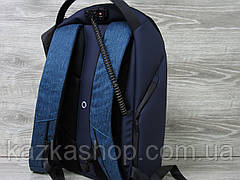 Рюкзак фирмы Optima, полиэстер, Laptop-карман, S-образные лямки, USB порт, аудио-порт, антикражка, фото 2