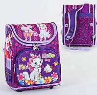 Рюкзак школьный ортопедический С 36176, твердый каркас, 3D принт