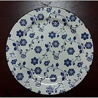 Керамическая тарелка Мальва  26.5см ( большие тарелки )