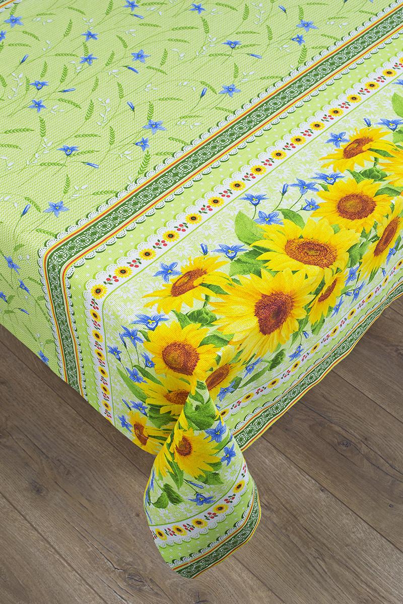Скатерть хлопок 140х140 Sunflowers