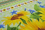 Скатерть хлопок 140х140 Sunflowers, фото 2