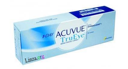 Однодневные контактные линзы Acuvue 1-Day TruEye