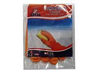 Перчатки Z-BEST Professional Line-45193/94/95 плотные  оранжевые латексные 014519