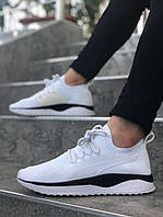 Мужские кроссовки Puma Ignite (white/black), белые летние мужские кроссовки Пума Игнайт