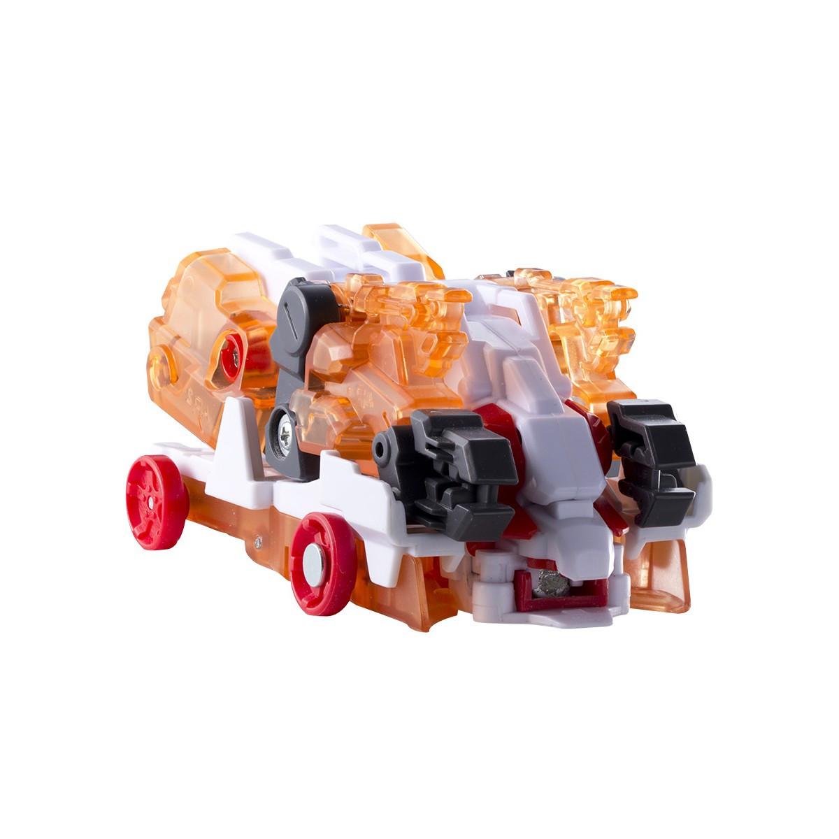 Машинка-трансформер Screechers Wild Storm Horn (Дикі Скричеры Штормхорн) червона L3 (EU683141)