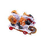Машинка-трансформер Screechers Wild Storm Horn (Дикі Скричеры Штормхорн) червона L3 (EU683141), фото 4