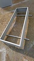 Гробничка из металла 2 мм удлиненная
