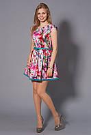 Отличное женское платье на лето с коротким рукавом