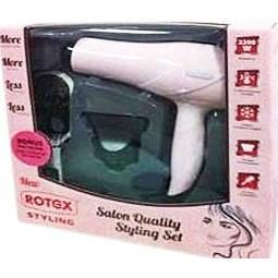 Фен Rotex RFS21-P  (подарочный набор + щетка для волос), фото 2