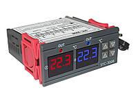 Контроллер температуры STC-3008 цифровой 220 В