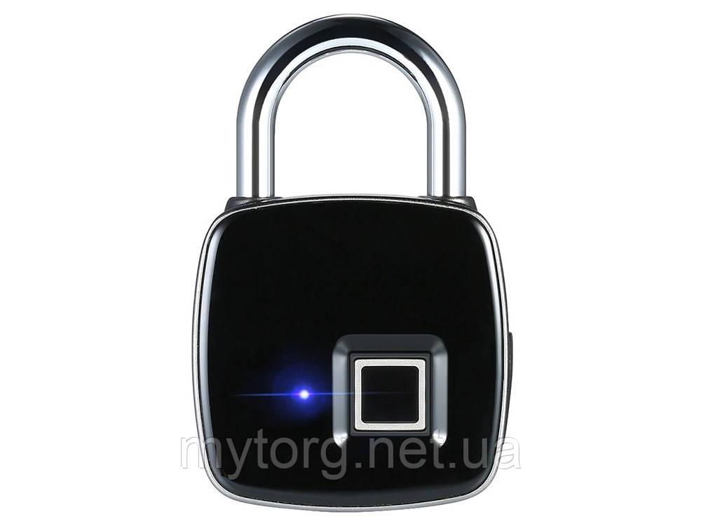 Умный замок который открывает отпечаток пальца Fingerprint Leshp USB водонепроницаемый
