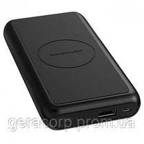 Внешний аккумулятор RavPower Power Bank 10000mAh Wireless Charging Black (RP-PB081), фото 3