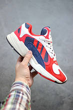 Кроссовки Adidas Yung-1 Red/White (Адидас Янг)