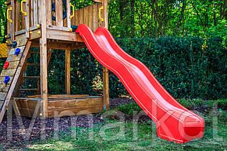 Гірка дитяча HAPRO (Голландія) 3м синя, фото 2