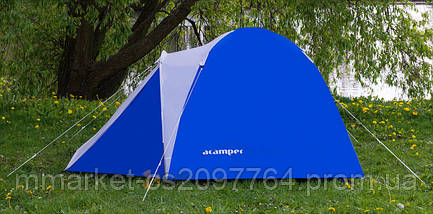 Палатка 3-х місна Acamper ACCO3 зелена - 3000мм. H2О - 3,2 кг., фото 2