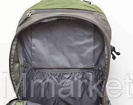 Туристический дорожный рюкзак с отделом под ноутбук  + чехол - дождевик, фото 2