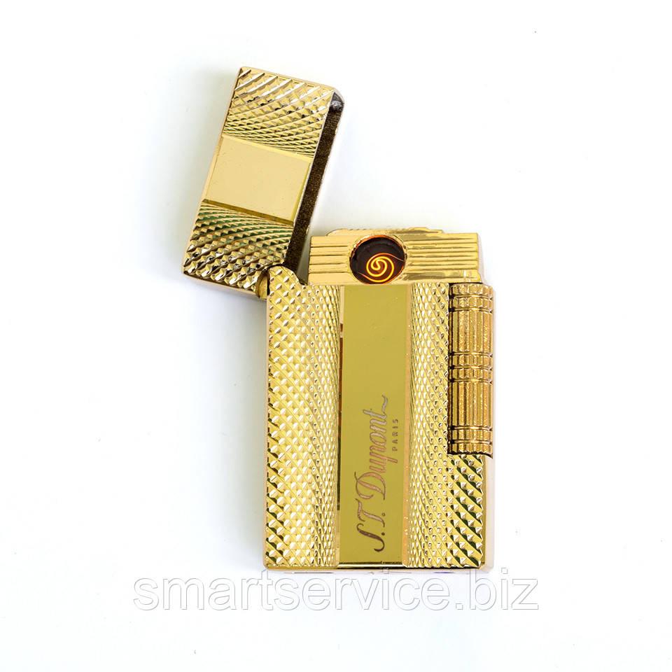 Подарочная USB зажигалка фирмы Dupont ZU308450