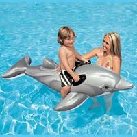 Надувной плотик дельфин 58535 Intex