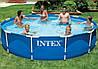 Бассейн каркасный круглый Intex 28210 (56994)  366х76 см
