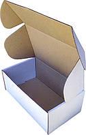 Коробка самосборная белая (микрогофрокартон) 210х120х80