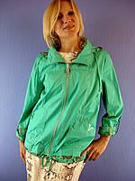 Женская весенняя, летняя ветровка Ylanni 167, 2XL-7XL (куртка: 100% хлопок) Ylanni, Janiсa, Mishele, Symonder