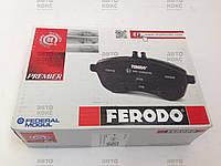 Тормозная колодка передняя Ferodo FDB1699 на Chevrolet Aveo 1.2- 1.5 Kalos 1.2−1.4 (16V), фото 1