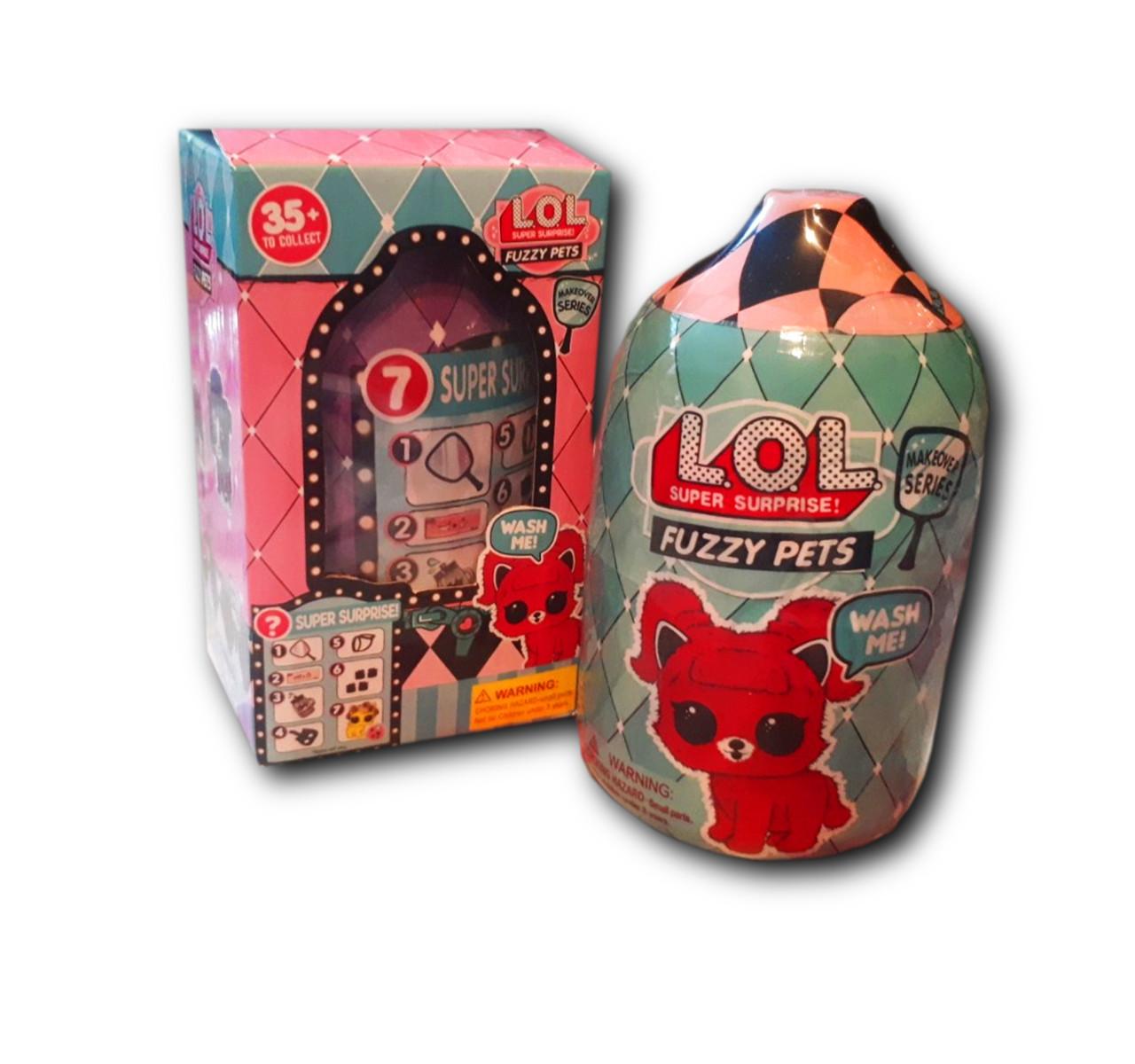 Кукла Fuzzy Pets новая серия/ Кукла ЛОЛ питомец