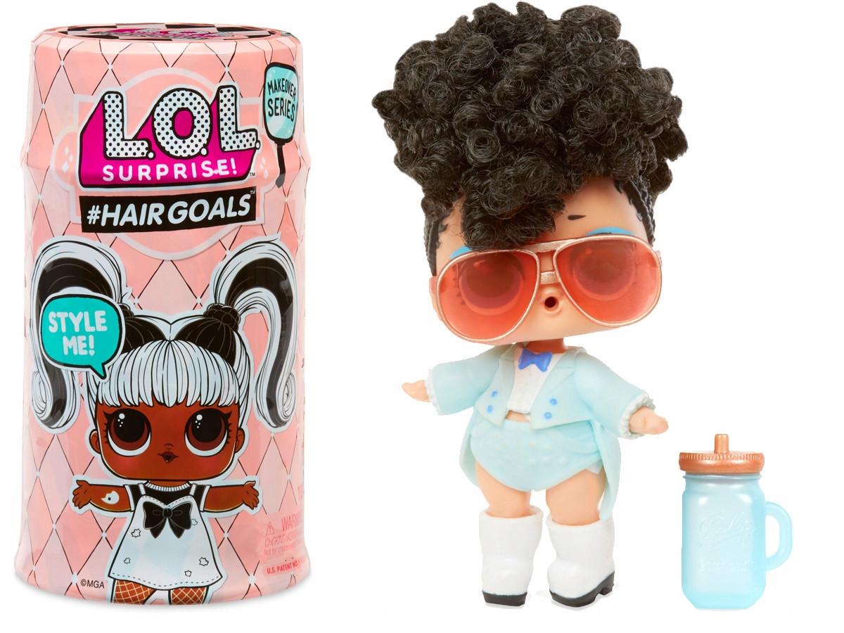 Кукла LOL surprise с волосами в капсуле НОВАЯ СЕРИЯ - Модные прически 2