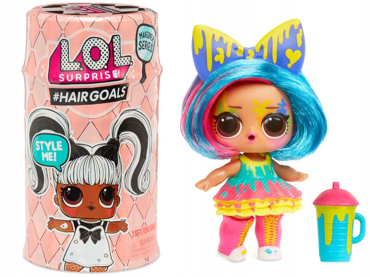Кукла LOL surprise с волосами в капсуле НОВАЯ СЕРИЯ - Модные прически