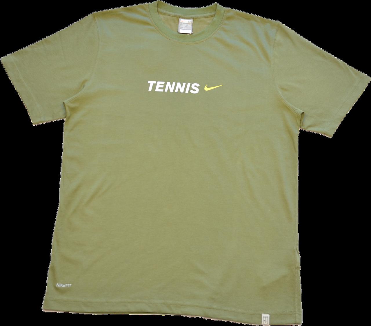 Мужская хлопковая футболка Nike.