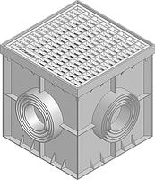 Точечний дренаж HAURATON Recyfix Point 30/30 (300х 300х 300), PE-PP з гідрозатвором