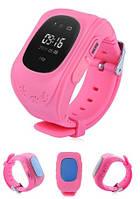 Q50 детские умные часы с GPS (pink)
